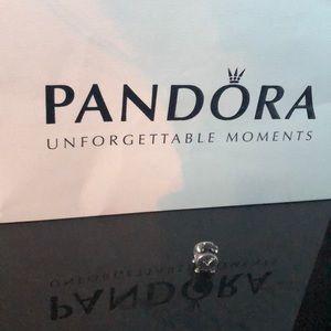 Pandora Silver Clock Charm